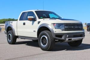 2013 Ford F-150 SVT Raptor Adds New Color Option