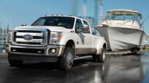 Ford takes back max HD towing lead for 2013