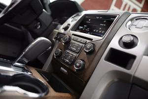 2013 Ford F-150 Lariat MyFordTouch MFT Interior