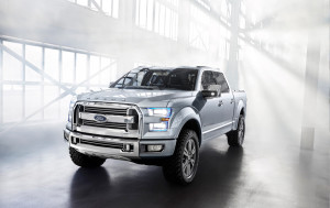 2013 Ford Atlas Concept 007 Front View
