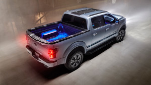 2013 Ford Atlas Concept 012 LED Truck Bed, Spoiler