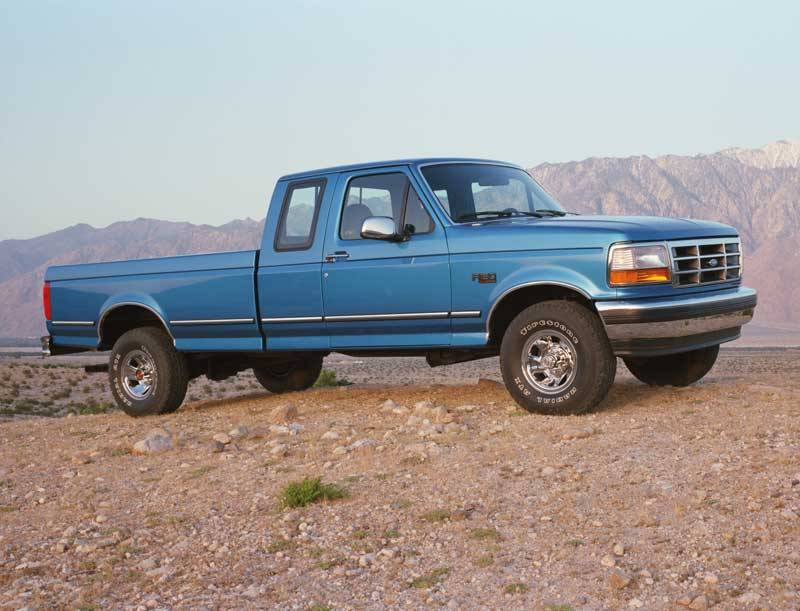 The 1994 Ford F 150 Extended Cab Reviewed Over Snow