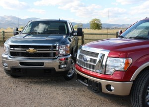 Ford F-150 vs Chevy Silverado