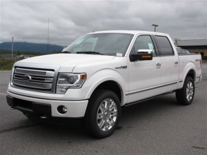 2013 Ford F-150 Platinum front