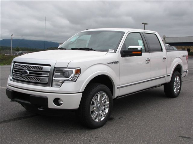 2013 Ford F 150 Platinum front | Ford F 150 Blog