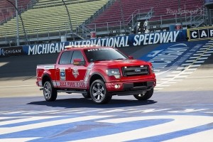2013 Ford F-150 at Michigan International Speedway (MIS)
