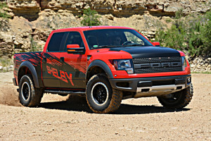 2013 Shelby Raptor in Sand