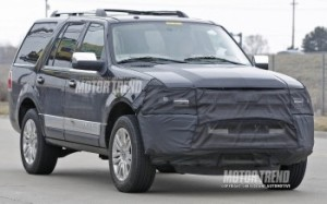 2015 Ford Expedition Test Mule