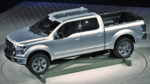 2013 Ford Atlas Concept at Auto Show