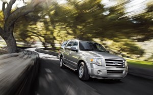 2013 Ford Expedition Out Driving