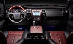 Ford F-150 Harley Davidson Interior