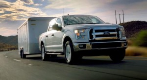 2015 Ford F-150 2.7 liter ecoboost towing at davis dam