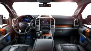 2015 Ford F-150 Platinum Interior