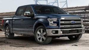 2015 Ford F-150 in Blue