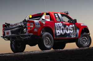 Ford ran a Ford Raptor in the Baja 1000, powered by a 3.5 Liter EcoBoost