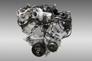 2015 6.7 Liter Powerstroke Diesel with 440hp and 880tq