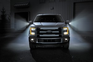 2015 Ford F-150 Uses LED Lighting Extensively