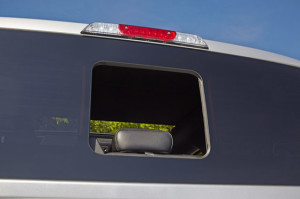 2015 F-150 Seamless Sliding Window Fully Opened