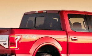 2015 Ford F-150 Rear with Seamless Slider