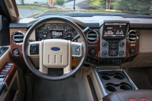 2015 Ford F-250 King Ranch Edition interior