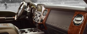 2015 Ford F-350 King Ranch Interior