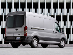 2015 Ford Transit Work Van available with 3.2 liter diesel