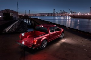 2015 ford f-150 LED Lighting used throughout the new truck
