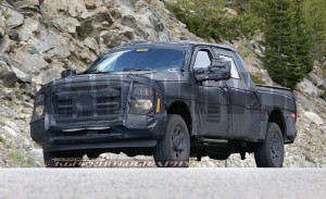 2016 Ford F-250 Super Duty Caught Testing