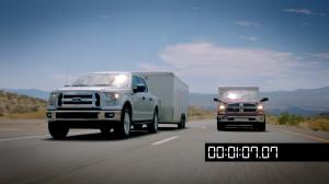 Ford's all new 2.7 liter EcoBoost V6 vs Dodge Ram's new 3.0 Diesel at Davis Dam