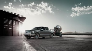 2015 Ford F-150 Lariat Crew Cab with Trailer