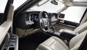 2015 Lincoln Navigator Interior open door