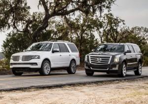 2015 Lincoln Navigator vs Cadillac Escalade