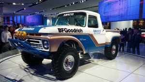 1966 Ford F-100 at Detroit Auto Show