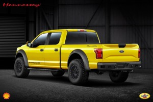 2015 Ford F-150 Hennessey Velociraptor 600 Supercharged rear