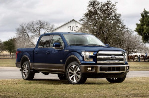 2015 Ford F-150 King Ranch Edition Blue