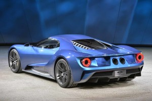 2016 Ford GT with 3.5 liter EcoBoost at Detroit Auto Show