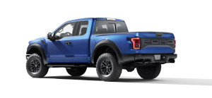 2017 Ford F-150 Raptor Rear View