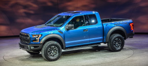 2017 Ford F-150 Raptor at Detroit Auto Show