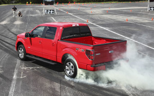 2011 Ford F-150 EcoBoost FX2 Burnout