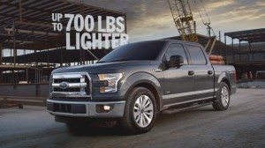 2015 Ford F-150 is 700 Pounds Lighter